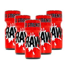 RAW XXX Strength Aroma - 10ml - 5 Pack