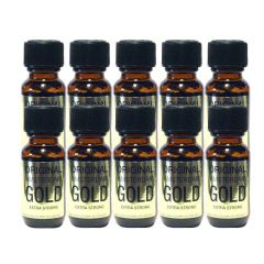 Original Amsterdam Gold Aroma - 25ml Extra Strong - 10 Pack