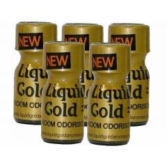 Liquid Gold Aroma - 10ml - 5 Pack