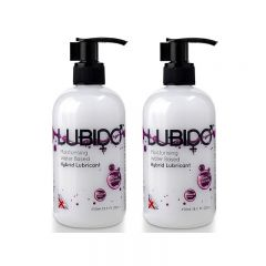 Lubido Hybrid Lubricant - 250ml - Twin Pack
