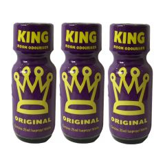 King Original - 25ml Aroma - 3 Pack