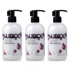 Lubido Hybrid Lubricant - 250ml - Triple Pack