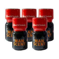 Man Scent Leather Cleaner Poppers - 10ml - 5 Pack