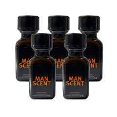Man Scent Leather Cleaner Poppers - 24ml - 5 Pack
