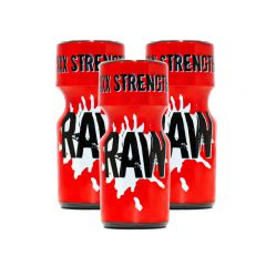 RAW XXX Strength Aroma - 10ml - 3 Pack