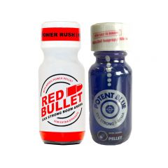 Red Bullet-Potent Blue