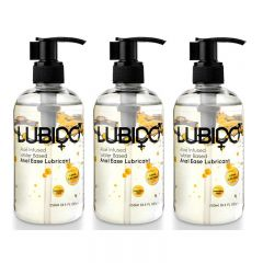 Lubido Anal Ease Water Based Lubricant - 250ml - Triple Pack