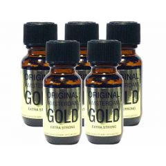 Original Amsterdam Gold Aroma - 25ml Extra Strong - 5 Pack