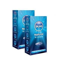 Skins Natural Condoms - 24 Pack