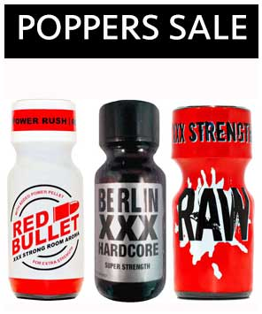 Poppers sale